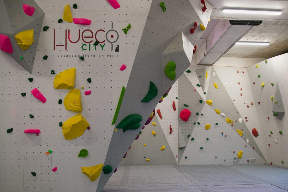 Hueco city enfin une salle d 39 escalade au centre ville de for Escalade interieur